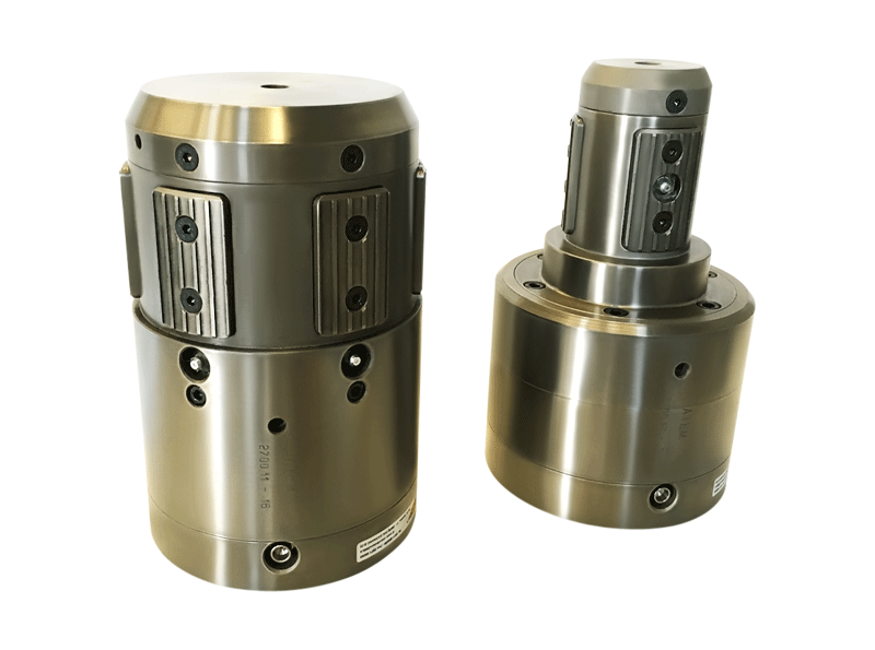 atem, core chucks, pneumatic, mechanical activated, heavy weight rolls, clamp cores